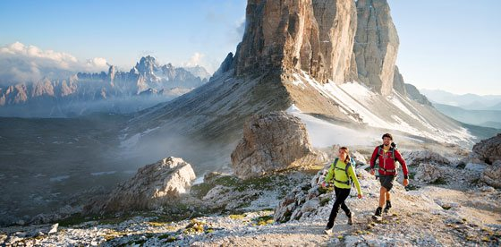 Short Trekking Days in the Dolomites